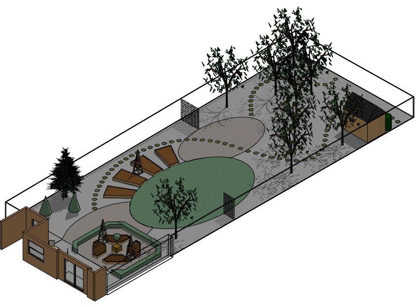 Showcase garden plans for east anglia by anna mcarthur for Garden design ideas for disabled